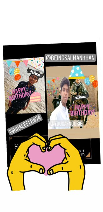 Wish you happy birthday salman khan
