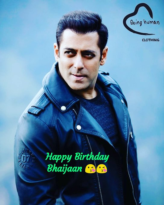 Happy wala birthday mega star Salman khan