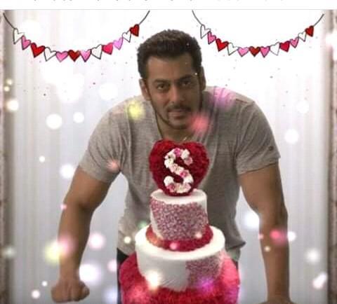 Wish you happy birthday Salman Khan God bless you always life