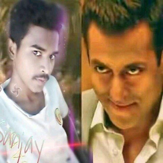 Happy birthday wishes god bless you hai ne Salman Khan bhAijã ñ