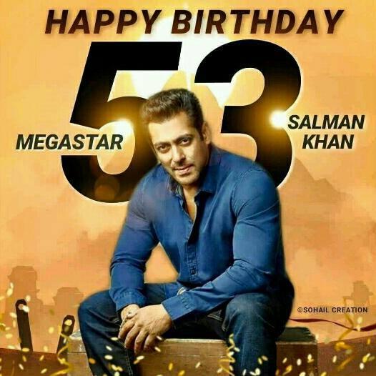 Happy birthday SALMAN KHAN BHAI