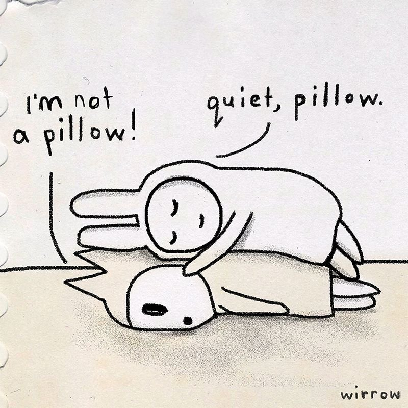 RT @hitRECord: ✧・゚:*  (pillow love)  *:・゚✧  https://t.co/kiVBo5vkw9 https://t.co/z8yQE3UnYv