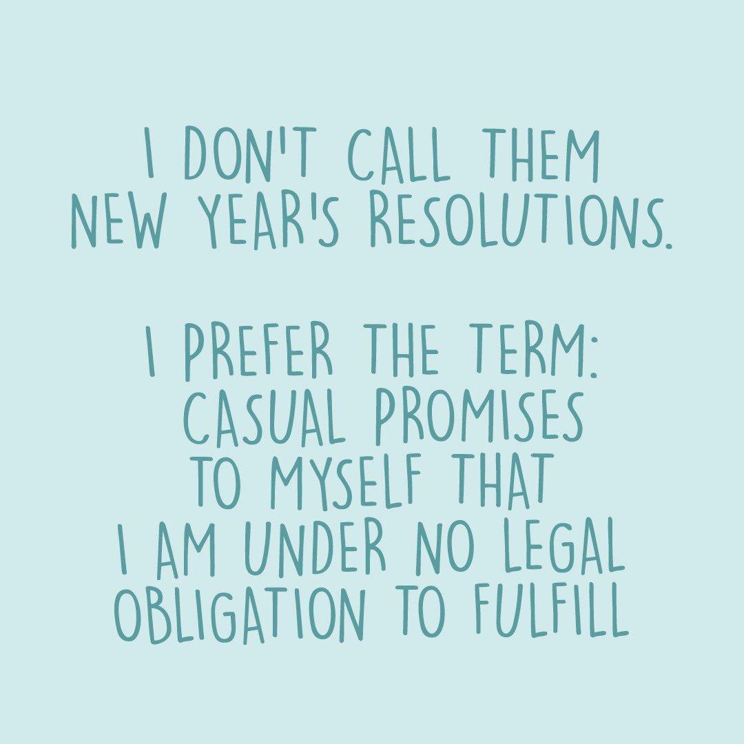 New Year's maybes. https://t.co/9TVeyZVU03