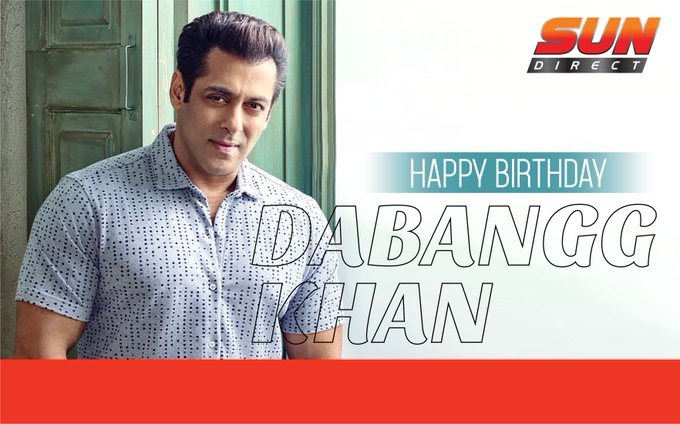 Wishing our very own Bhaijan Salman Khan, a very Happy Birthday. :)