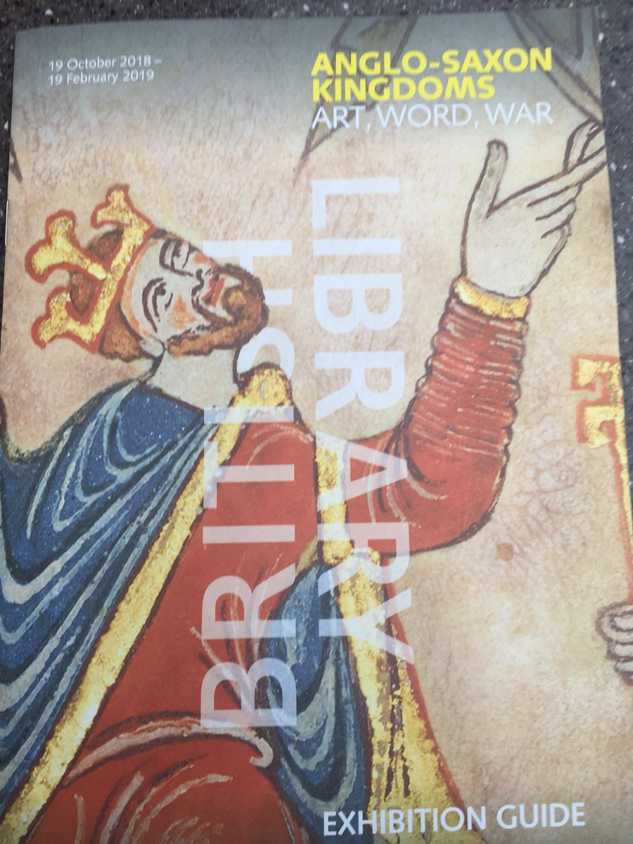 test Twitter Media - Just been to see the Anglo-Saxon Exhibition at the British Library - very well worth seeing! Lots of remarkable old manuscripts including the Domesday Book. It's on til 19th February. https://t.co/3KnkrIHM3X