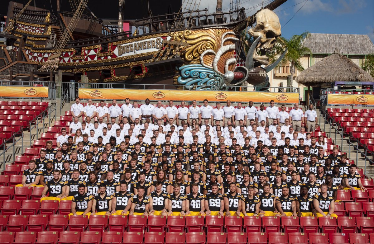Your 2019 @outbackbowl #Hawkeyes