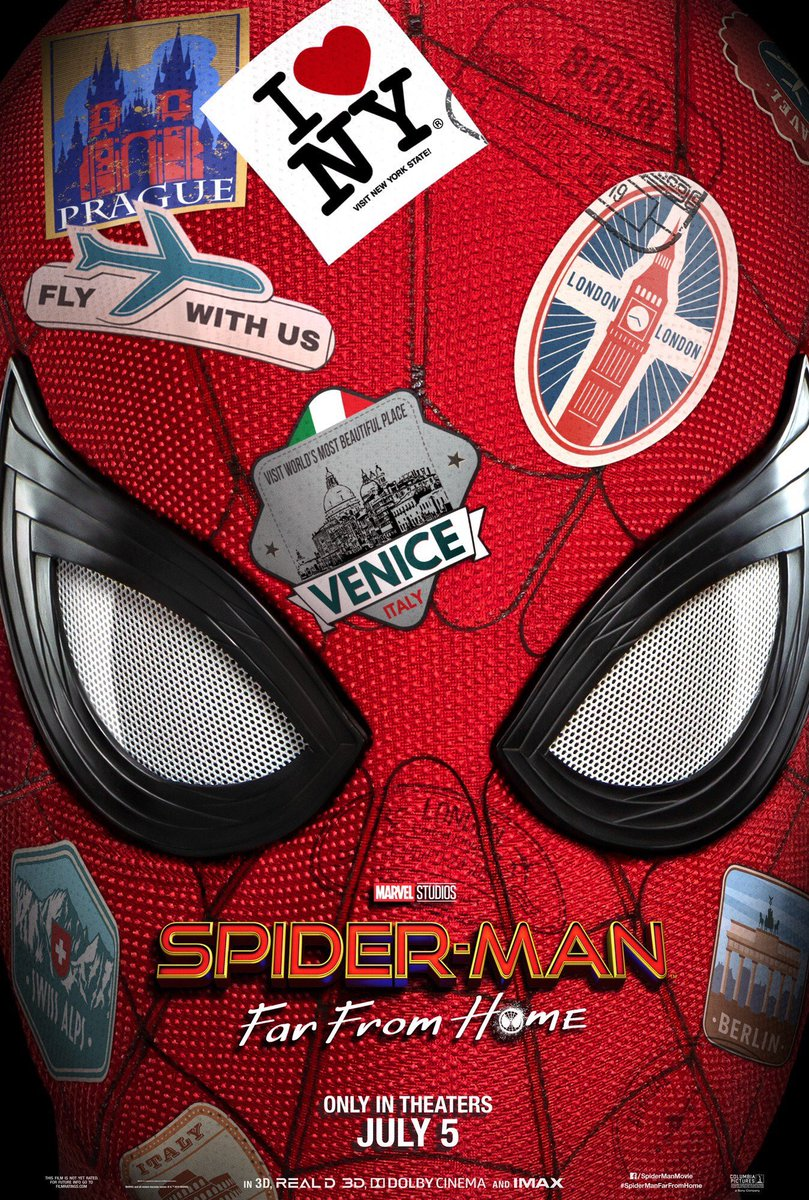 #SpiderManFarFromHome