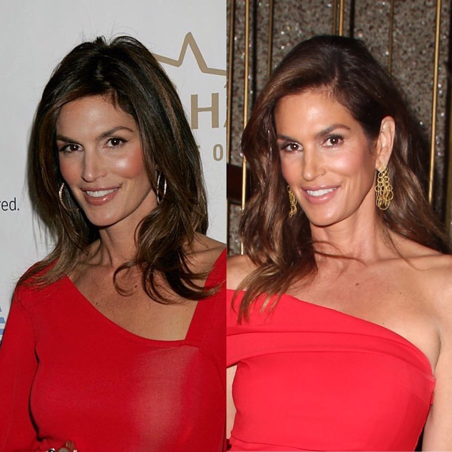RT @MeaningfulBty: .@cindycrawford's #MBglow in 2008 and 2018! #10yearchallenge https://t.co/iQJNMTMvFD https://t.co/eNshmuN1Sa