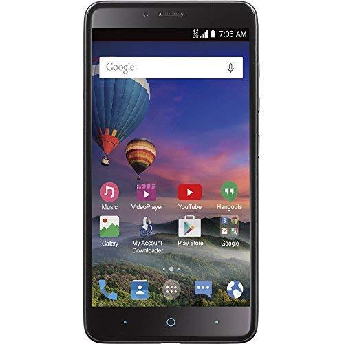 Buy Straight Talk ZTE Max Duo 4G LTE Prepaid Smartphone 6-inch 1080p Display...