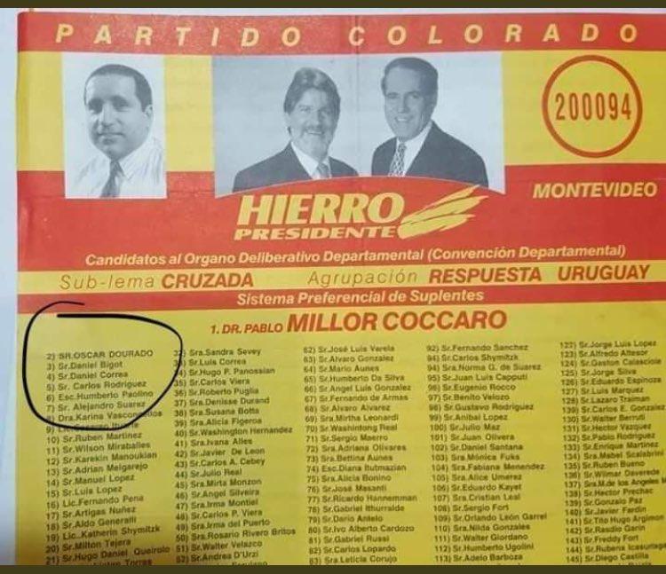 RT @FacundoAbella8: Para los que decían que Dourado era del mpp. https://t.co/Kh8QOPiEKg