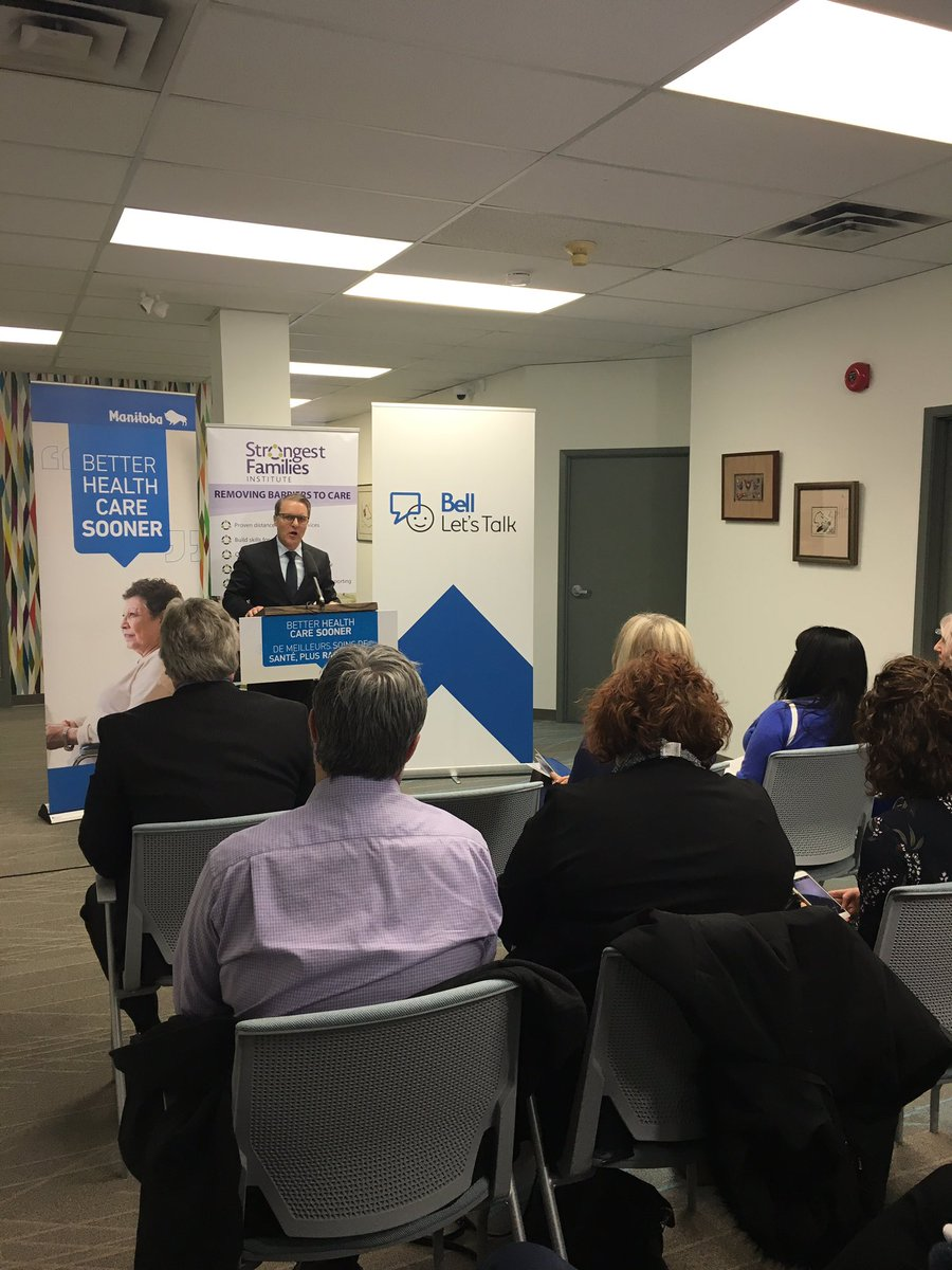 test Twitter Media - The MB government & Bell Let's Talk are jointly contributing $1 million over five years to the Strongest Families Institute, an award-winning organization that provides evidence-based programs for children & families dealing with mental illness & other health issues. #mbpoli https://t.co/kKyEX317dz