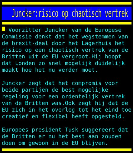 test Twitter Media - Juncker:risico op chaotisch vertrek https://t.co/I7WAHsngOf