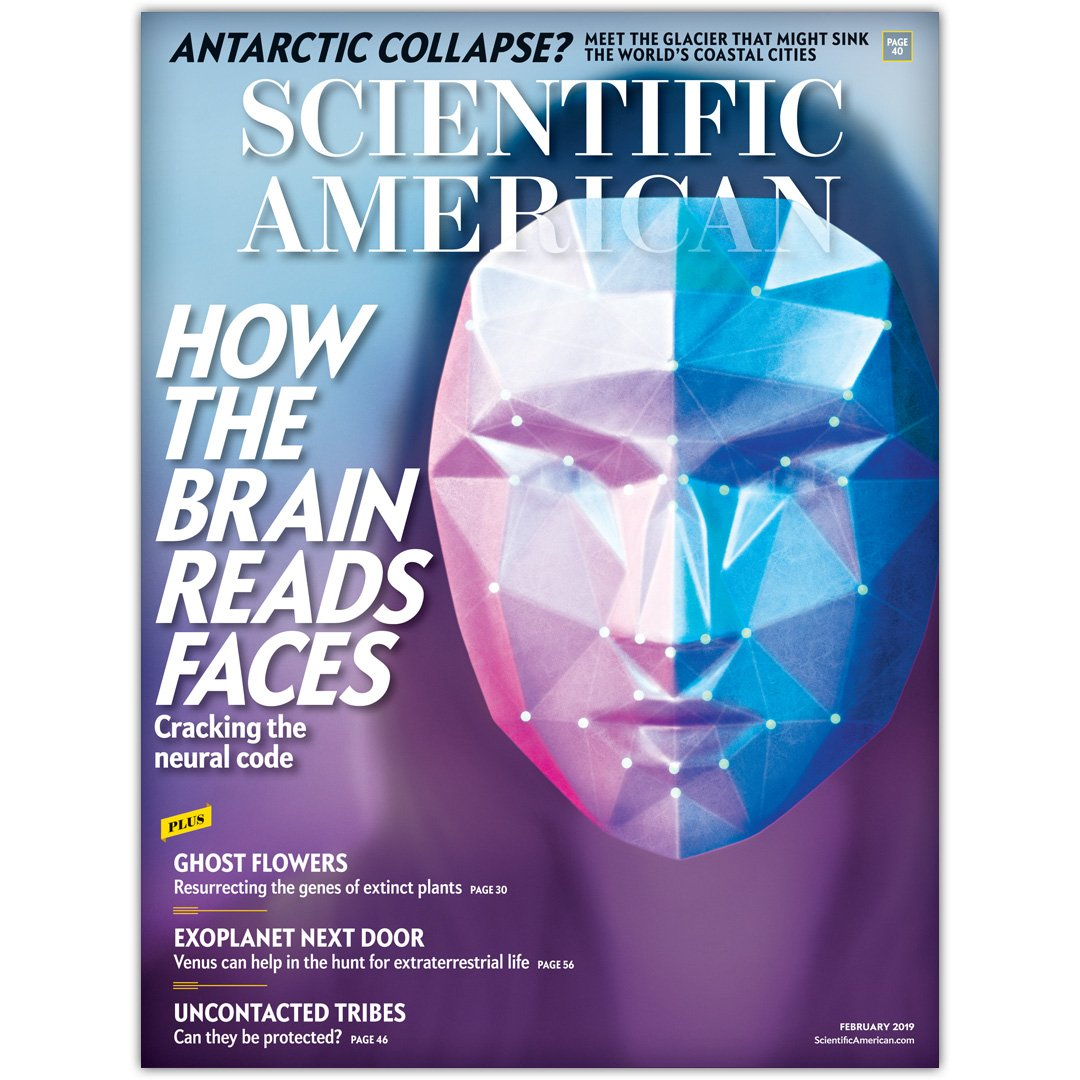 test Twitter Media - Researchers have isolated the brain regions that process faces and cracked the code for recognizing them.   Learn more in the February issue, available now:  https://t.co/wQ7BqLGree https://t.co/pHyQ2626uT