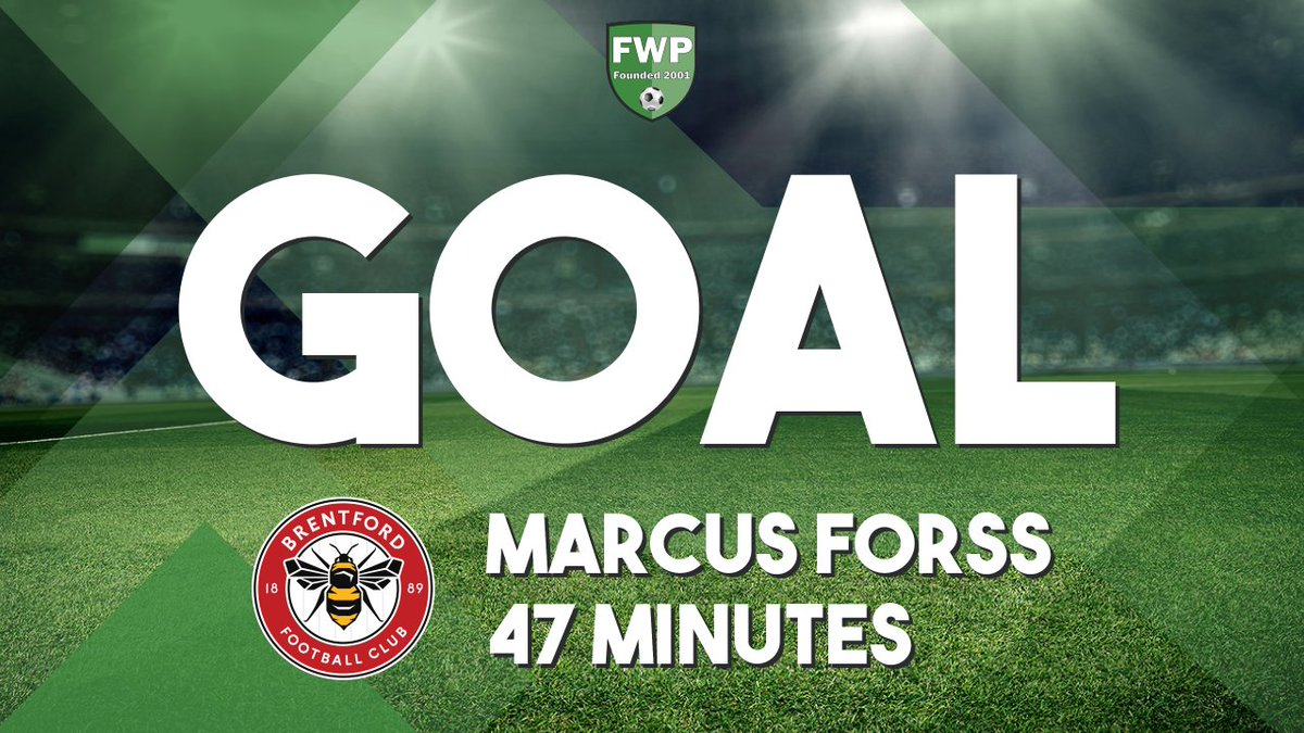 RT @FWPWingateFchly: GOAL: @FWPWingateFchly 1-1 @FWPBRENTFORD - Marcus Forss (47') https://t.co/xnX7IZgGAt https://t.co/SaqD3n2z8y