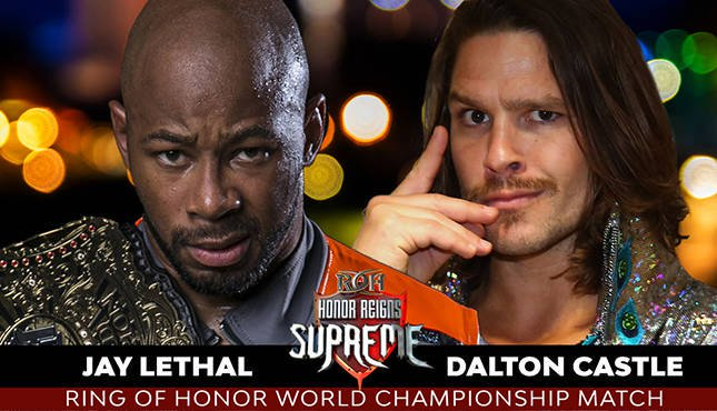 test Twitter Media - ROH Honor Reigns Supreme Results 1.13.19: Jay Lethal Battles Dalton Castle, More #ROH #HonorReignsSupreme https://t.co/0ngZu6fpfi https://t.co/U2ddwvAttO