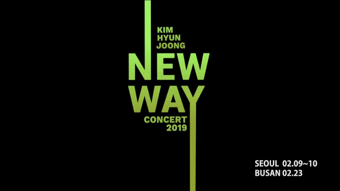 KIM HYUN JOONG  2019 CONCERT  'NEW WAY' TEASER https://t.co/t39DrENRco  #キム・ヒョンジュン #kimhyunjoong #김현중 https://t.co/fuN4mA860D
