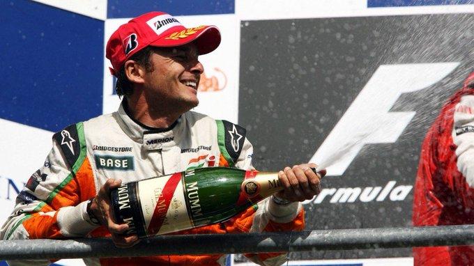 Happy Birthday ! Today Giancarlo Fisichella meets 46 years