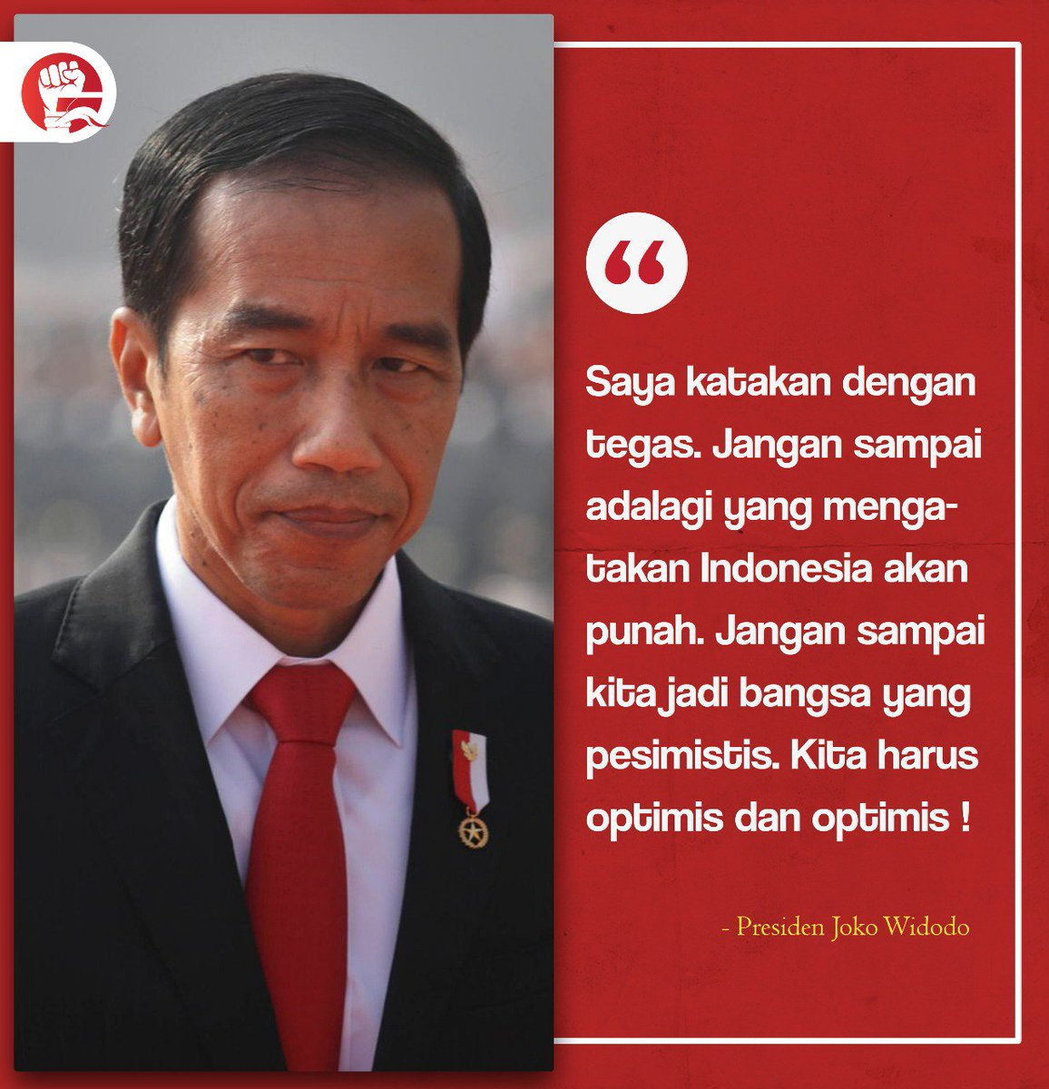 #jokowipresidenku #rekanjokowi #rekanjokowisulsel #ayoteruskerja #indonesiakuat https://t.co/omGtknnzyf