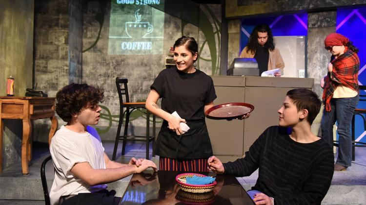 """test Twitter Media - """"Good Strong Coffee,"""" a play written by Luna MacWilliams '22, was selected for the PegasusTheatre Chicago's 32nd Young Playwrights Festival! The play is based on Luna's experiences growing up in Chicago's Pilsen and Little Village neighborhoods: https://t.co/SsKsNdLU44 https://t.co/EuZvobJXUF"""