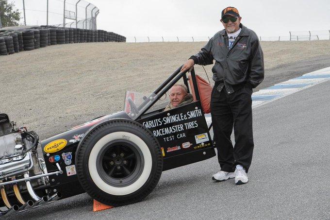 """Happy 87th birthday to drag racing legend \""""Big Daddy\"""" Don Garlits!"""