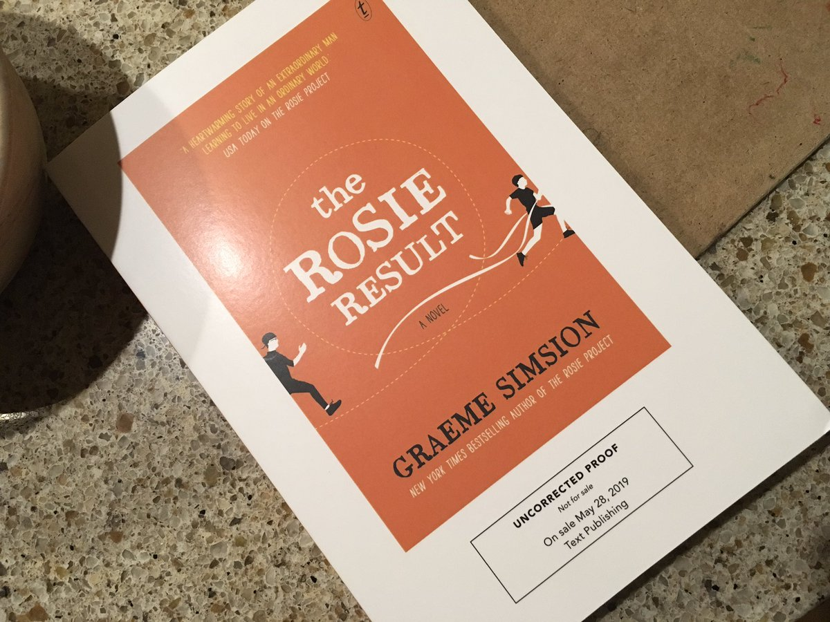 test Twitter Media - Look what arrived! Super excited to break into it. #TheRosieProject was one of my favorite books, followed quickly by #TheRosieEffect. Can't wait to see what Don Tillman is up to in this third installment. Will report back soon! @GraemeSimsion https://t.co/cteaQfzHg3