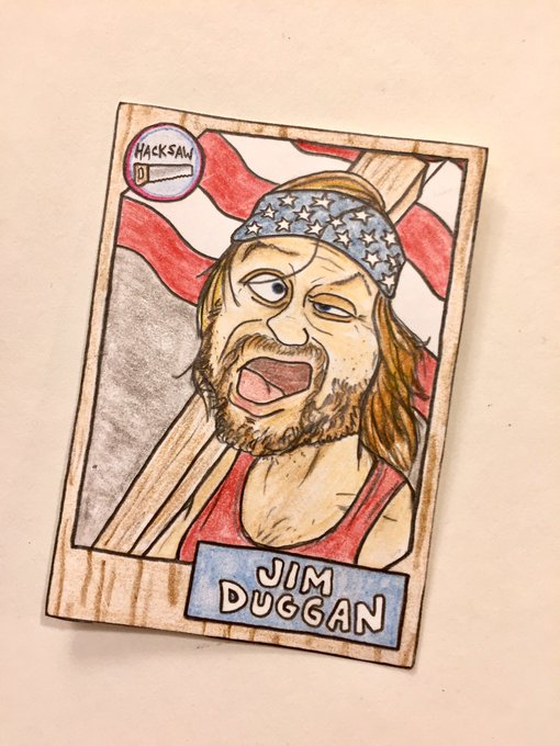 Wishing a happy birthday to Hacksaw Jim Duggan!