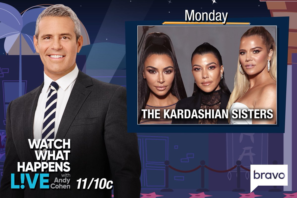 Tune-in to @BravoTV tonight at 11! I'll be on @BravoWWHL with @Andy! https://t.co/HWMmjVTfs5