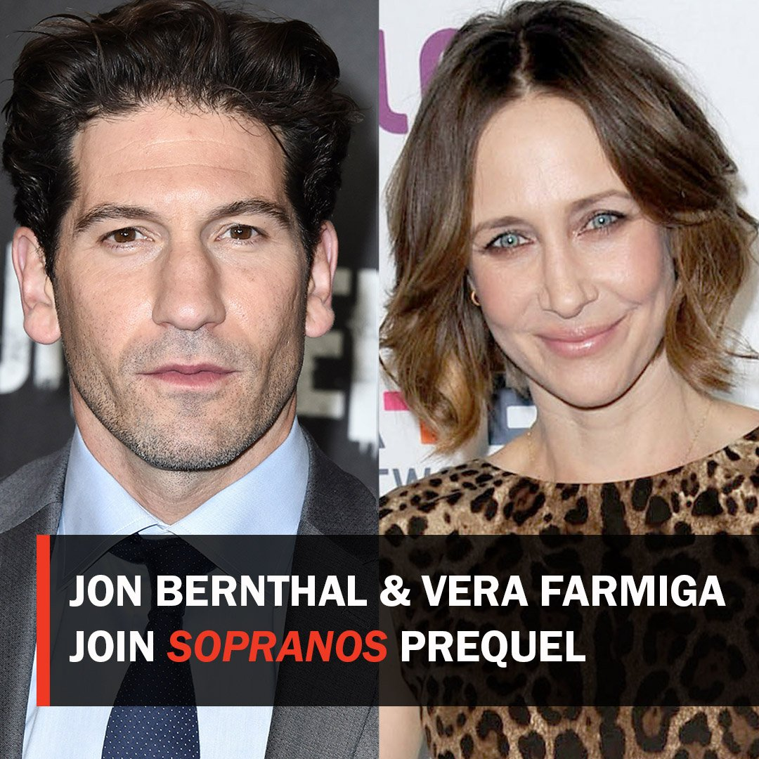 test Twitter Media - The Punisher's Jon Bernthal and The Conjuring's Vera Farmiga are in final talks to join New Line's #TheSopranos prequel movie. https://t.co/NVGT2ow7tM