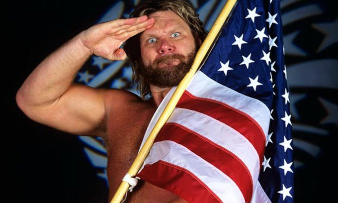 "Happy Birthday to WWE Hall of Famer ""Hacksaw\"" Jim Duggan who turns 65 today!"