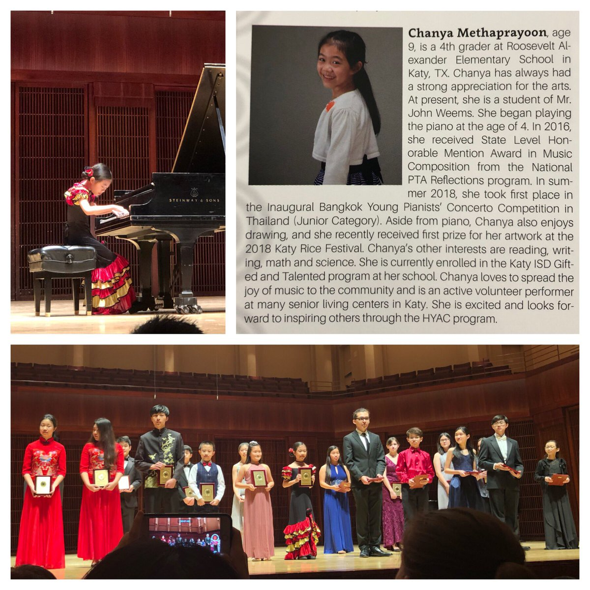 test Twitter Media - I had a blast performing in the Houston Young Artists' Concert at Stude Concert Hall, Rice University on January 12, 2019 https://t.co/GHYsXXXhwE