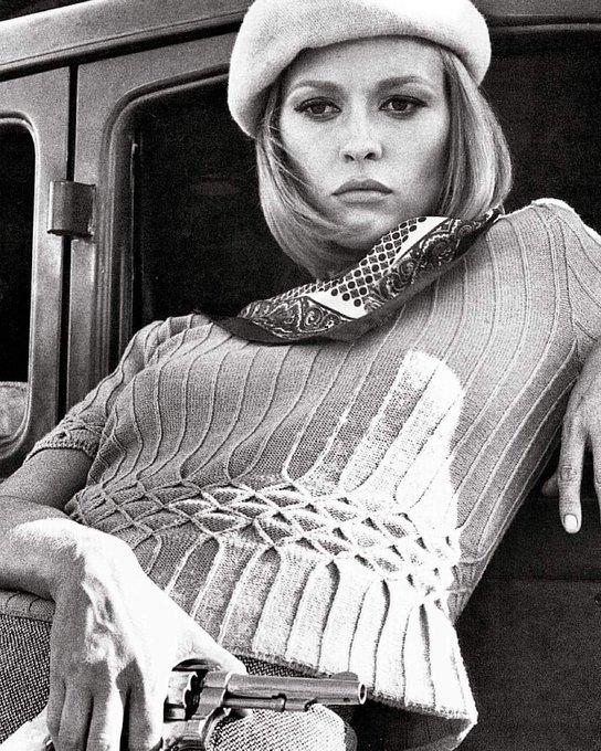 Happy Birthday, Faye Dunaway. (Bonnie and Clyde, 1967)
