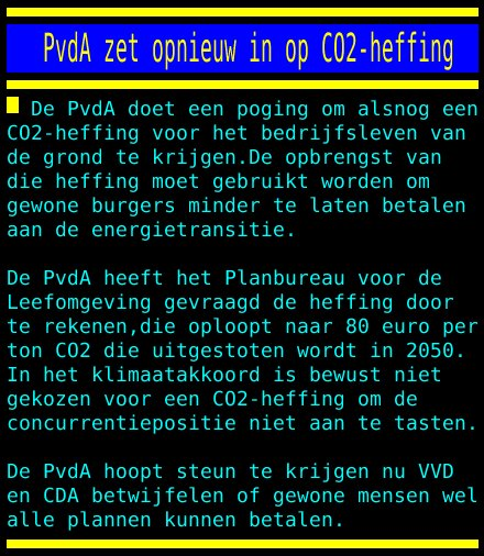 test Twitter Media - PvdA zet opnieuw in op CO2-heffing https://t.co/V9E0FnENgC