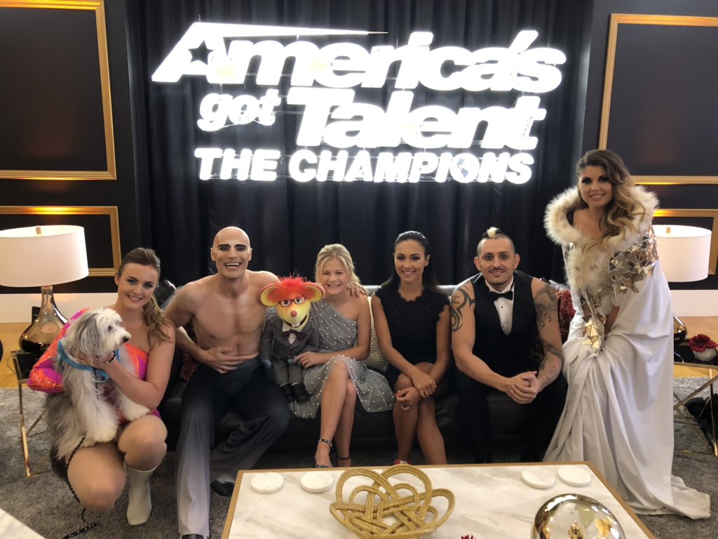 RT @ViktorKee: It was special time.  Miss you all #AGTTheChampions  @AGT https://t.co/780gfzWVXr