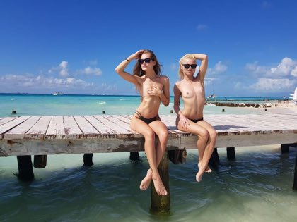 test Twitter Media - RT @zegna50: @ZazieSKY @tiffanytatumxxx wish I was there with you beauties https://t.co/buqFmORgyv