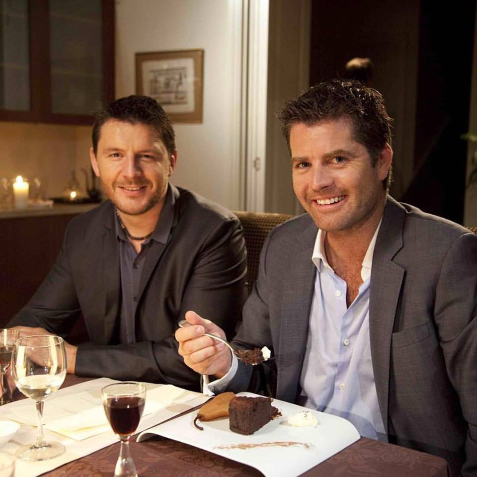 Pete evans and pete evans in their first year of my kitchen rules in 2009 y