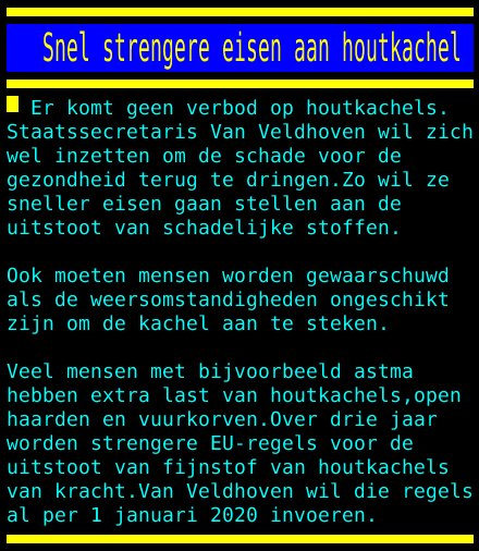 test Twitter Media - Snel strengere eisen aan houtkachel https://t.co/ObmM5b5oNw