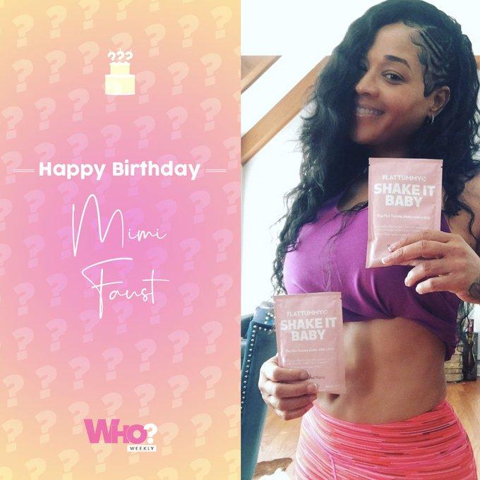 Happy Birthday, Mimi Faust!