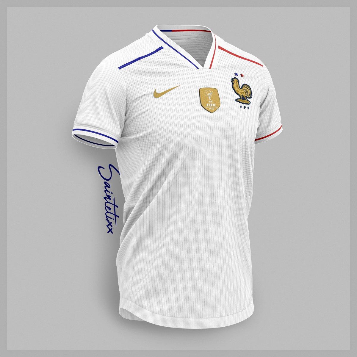 RT @Saintetixx: ▪️France Away x Nike concept . #France #2emeEtoile #ChampionsDuMonde https://t.co/91igFVzUsa