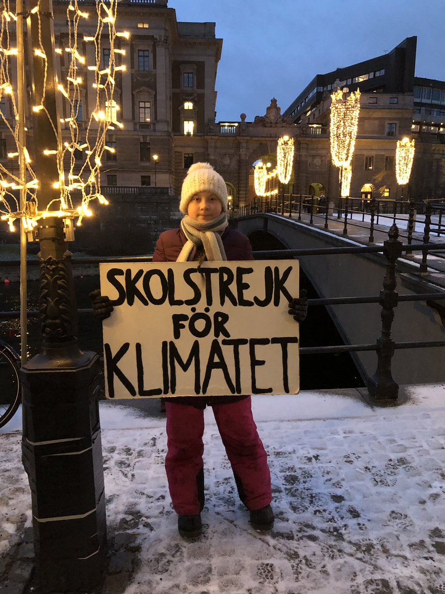 RT @GretaThunberg: School strike week 20. #climatestrike #fridaysforfuture #schoolstrike4climate https://t.co/RdKkdEDzYX