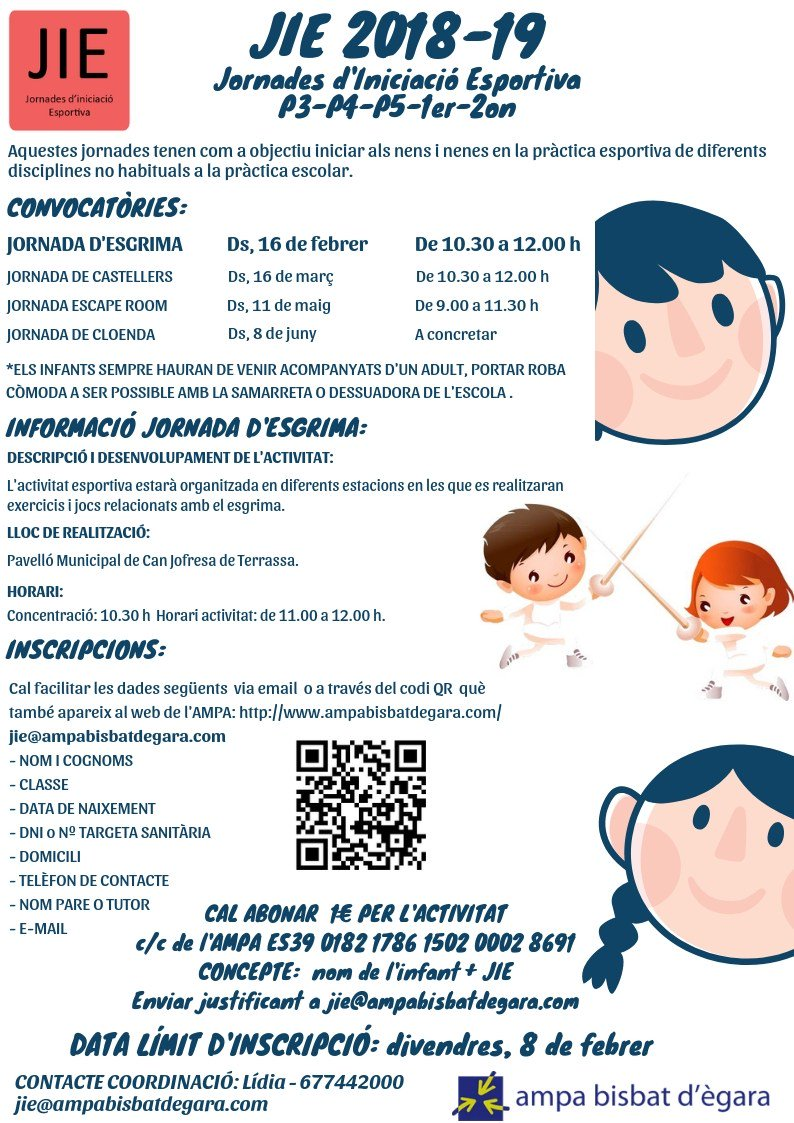 test Twitter Media - JIES 2018-2019. JORNADA D'ESGRIMA https://t.co/kxnDg9hDfP https://t.co/vT14280xj0