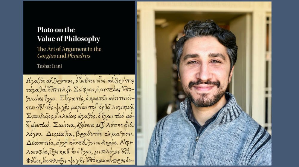 "test Twitter Media - Professor of Philosphy Tushar Irani spoke to @LAReviewofBooks about his book ""Plato on the Value of Philosophy: The Art of Argument in the Gorgias and Phaedrus."" https://t.co/MjxThQc7Lr #FacultyFriday https://t.co/n9JppS0s3U"