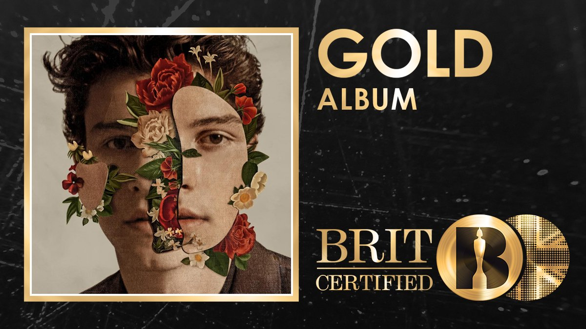 RT @BRITs: Congrats to @ShawnMendes as his self-titled studio album is now #BRITcertified Gold! 🇬🇧📀 https://t.co/IXNRhSnf4N