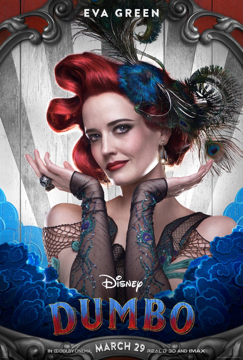 RT @Dumbo: See Eva Green as Colette Marchant and Colin Farrell as Holt Farrier in Disney's #Dumbo. https://t.co/UdWi5WSIcu