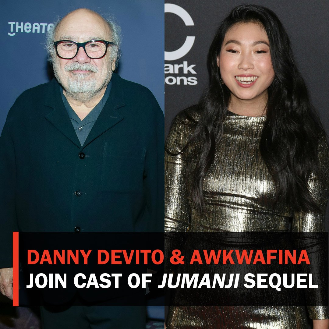 RT @RottenTomatoes: Danny DeVito and Awkwafina are set to join the sequel to #Jumanji: Welcome to the Jungle https://t.co/KhzxwUtwyR