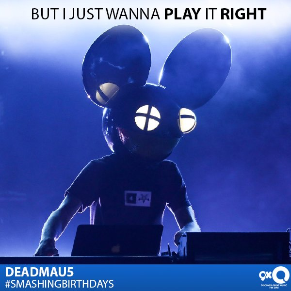 Your favourite mouse mask wearing DJ celebrates his today! Happy Birthday Deadmau5!