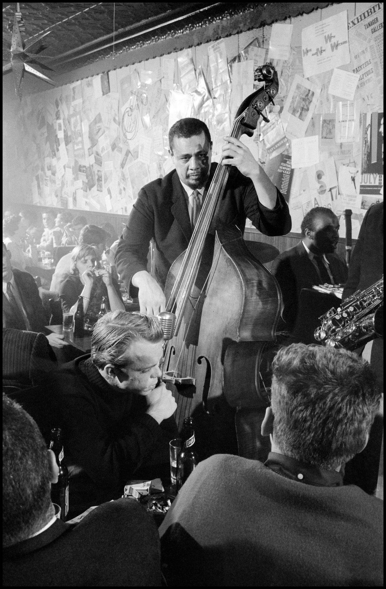 Charles Mingus. USA. 1958.  Today marks 40 years since the American jazz musician passed away on January 5, 1979.  © Dennis Stock/Magnum Photos https://t.co/TNI7JFrz48