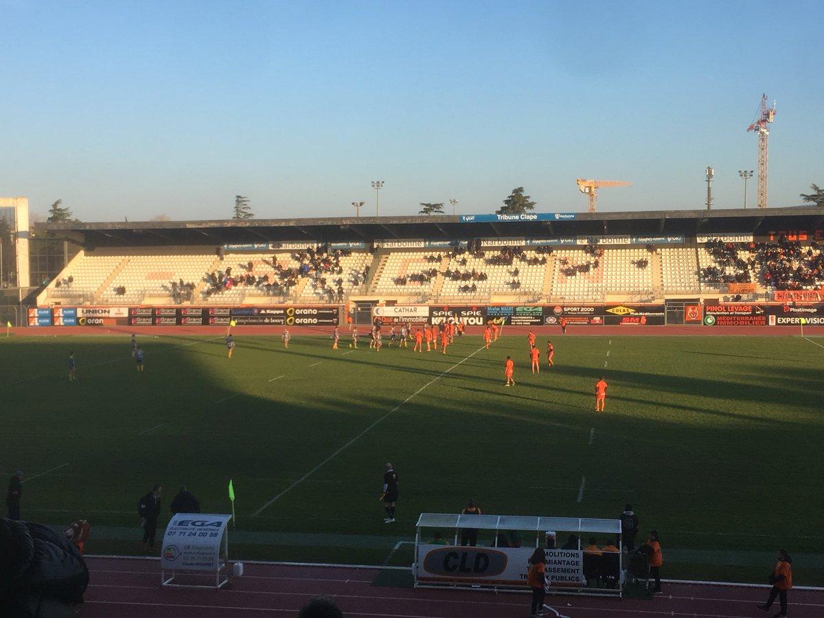 #RCNMRCAV   FIN DU MATCH   C'est terminé Narbonne s'incline sur le score de...