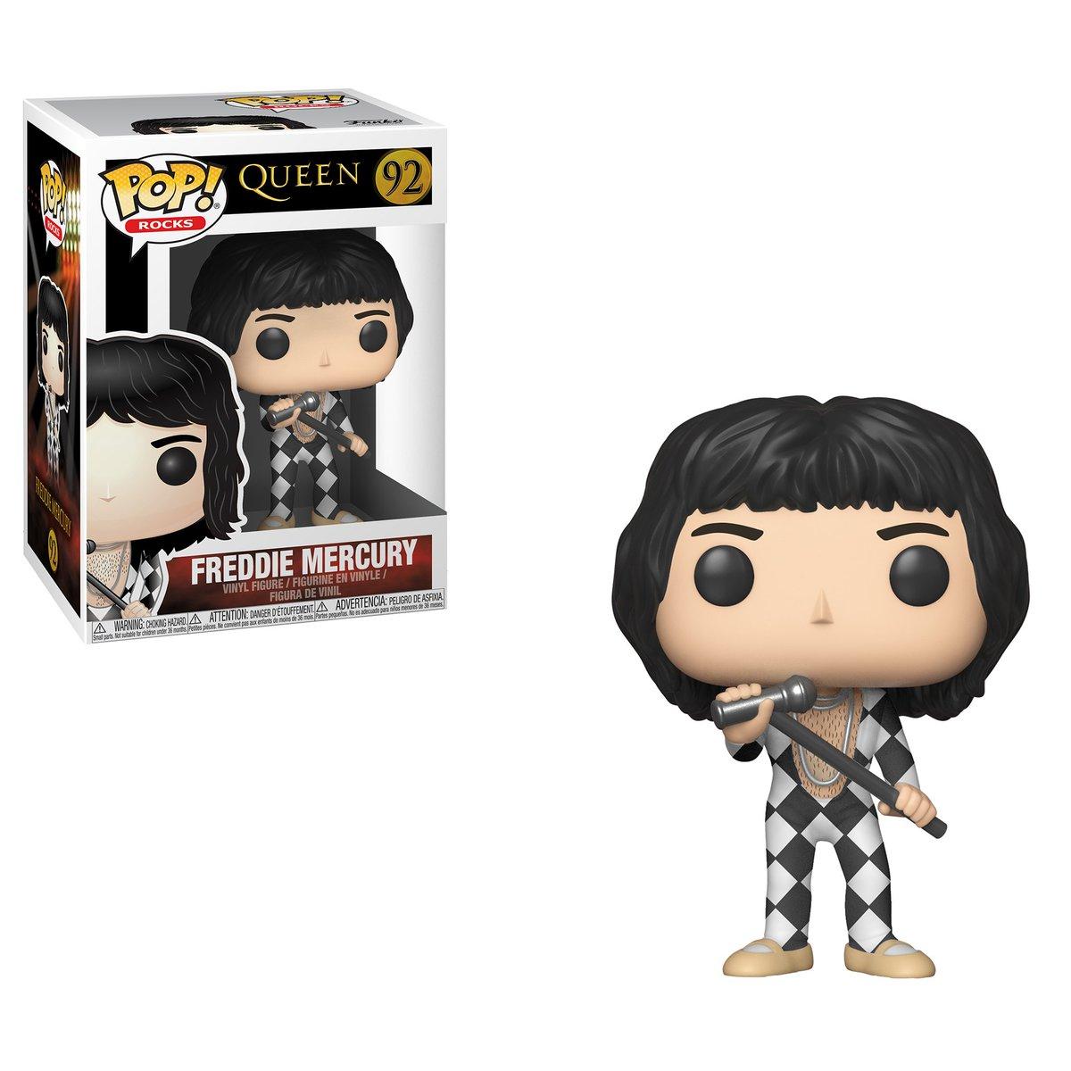 RT @OriginalFunko: RT & follow @OriginalFunko for the chance to win a Freddie Mercury Pop! https://t.co/Ryu6RU1c9n