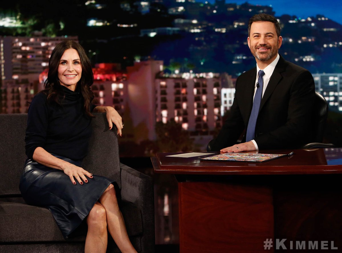 Always love being with @JimmyKimmelLive! Watch tonight on #ABC #Kimmel @jimmykimmel https://t.co/qCPbOm6mpz
