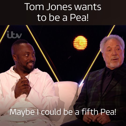 RT @ITV: It's the collaboration we've all been waiting for! @iamwill @realsirtomjones https://t.co/31G9qxCbC6